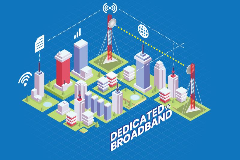Cari Tahu Perbedaan Internet Broadband vs Dedicated